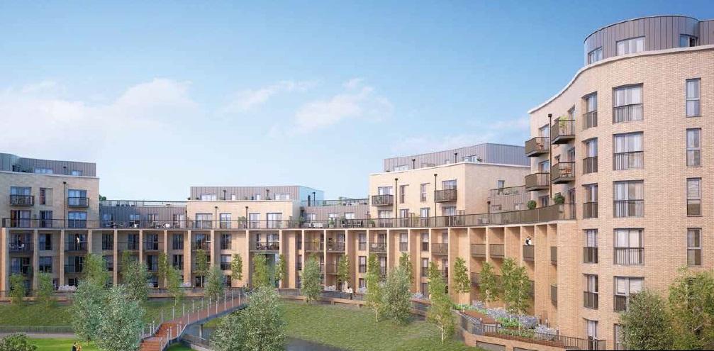 Londra, nuovo residenziale a Croydon, bi/trilocali in vendita