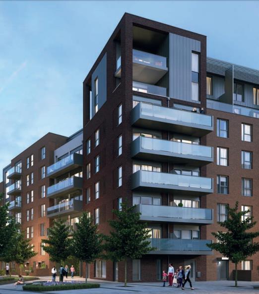 Londra, West Ealing, appartamenti in nuovo prestigioso complesso immobiliare