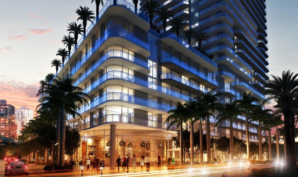 Miami, appartamenti di lusso in nuovo complesso residenziale in vendita