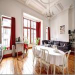 Bruxelles, centralissimo, grande appartamento in palazzo d'epoca